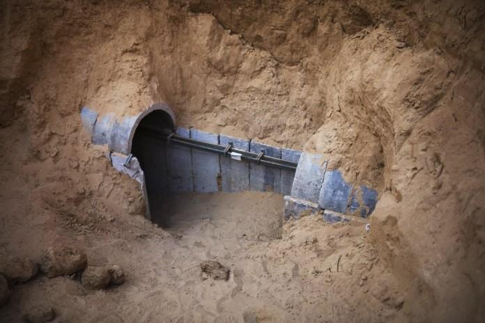 Tunnels danss la Bande de Gaza