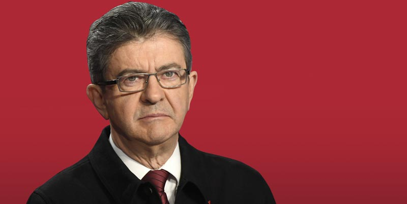 Image result for mélenchon